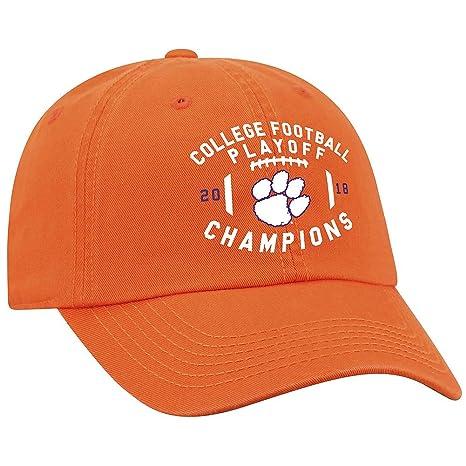 89c38a61397 Elite Fan Shop Clemson Tigers National Champs Hat 2018-2019 Orange Prime -  Adjustable