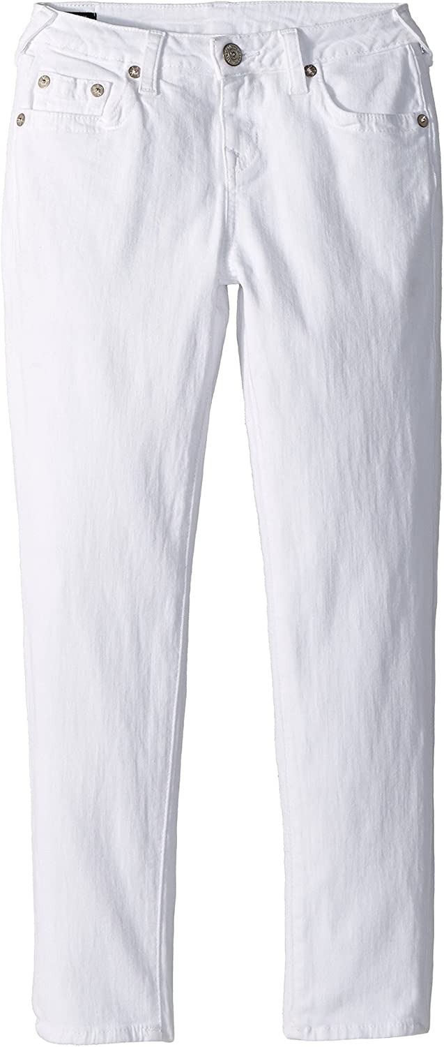 9b0128101 Amazon.com  True Religion Kids Girl s Casey Ankle Skinny in Bleached White ( Big Kids) Bleached White 7  Clothing