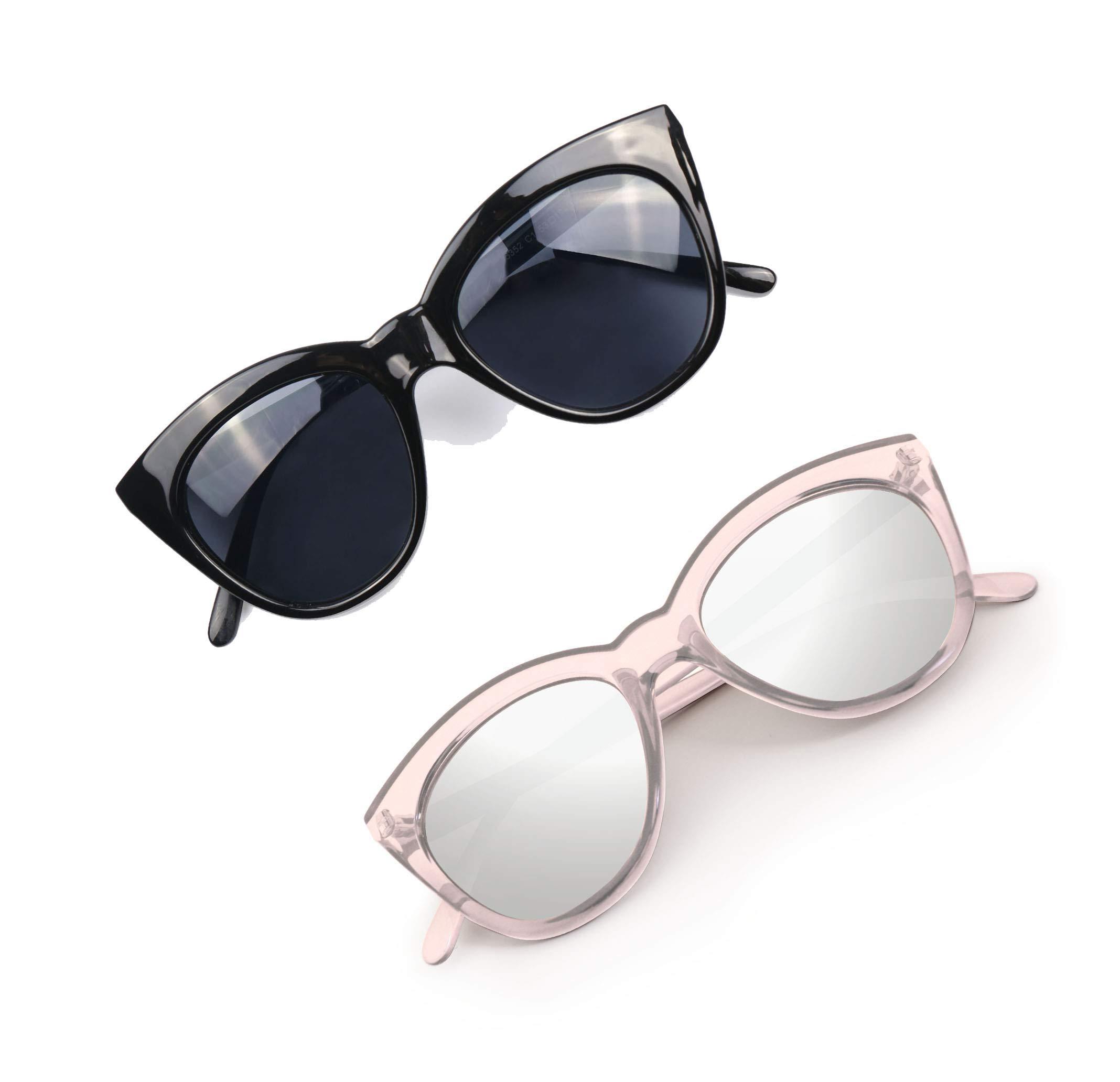 4810c6e0d4d84 Hoyee Eyes Cat Eye Polarized Sunglasses for Women