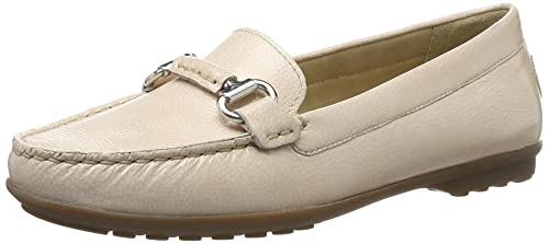 Geox Womens W Elidia 3 Moccasin Light Pink 36 EU/6 ...