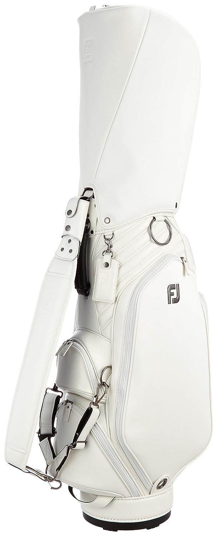 [フットジョイ] キャディバッグ FJキャディバッグ(9インチ) FJCB1611BK B01CQABPAA ホワイト ホワイト