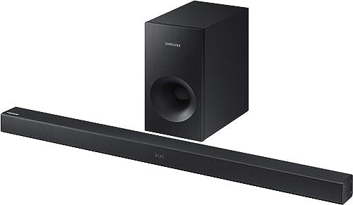 Samsung Electronics Surround Sound Bar Home Speaker Set of 2 Black HW-K369 ZA