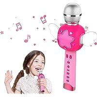 Karaoke Infantil Microfono Juguete Niños, Karoke Maquina Niños, Juguetes Regalos para Niñas 3 4 5 6 Años