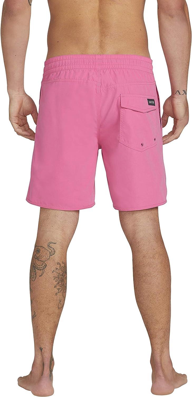 Volcom Lido Solid Trunk 16 Costume da Bagno a Pantaloncino Uomo
