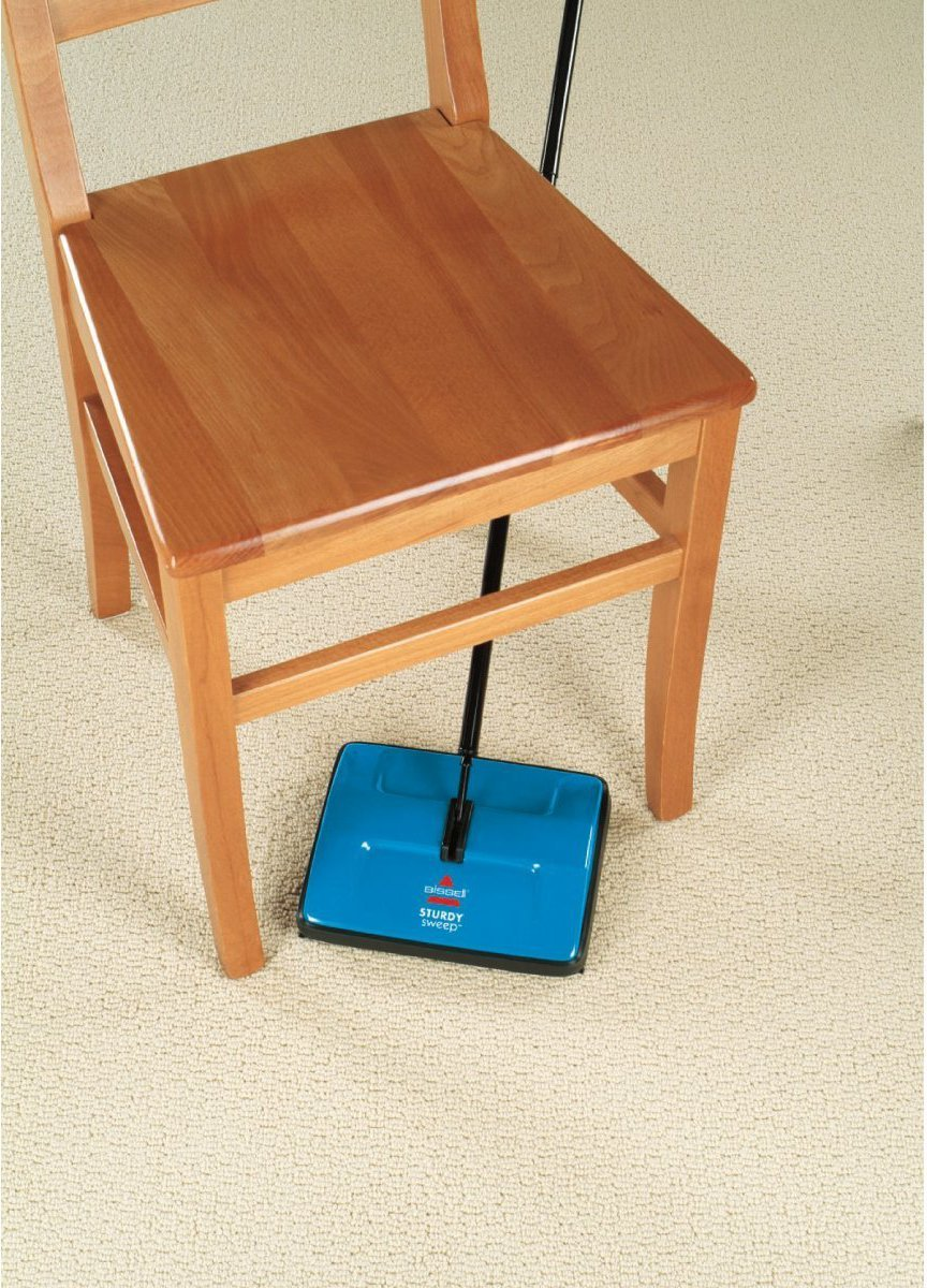 BISSELL Sturdy Sweep Manual Sweeper/Escoba manual de aspiración: Amazon.es: Hogar