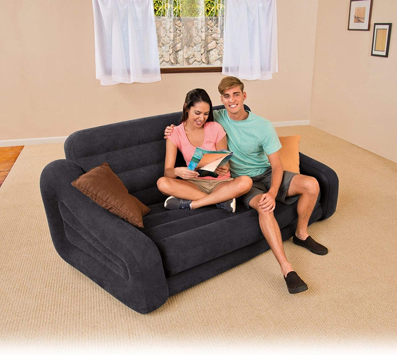 - Amazon.com: New Couch Bed Sofa Sectional Sleeper Futon Living Room