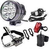Bike light Galwad® 10000LM 7x Cree XM-L T6 LED Mountain Cycle Cycling Head Light Headlamp Headlight + Charger + Battery + Rear Light