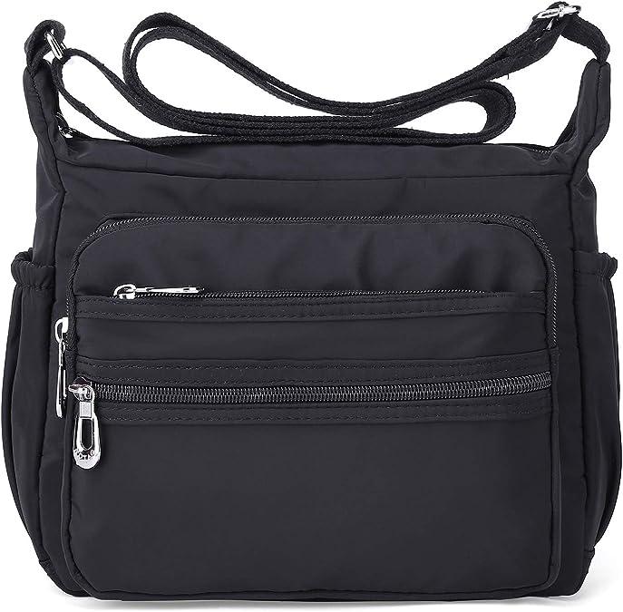 Crossbody Bag For Women Waterproof Shoulder Bag Messenger Bag Casual Nylon Purse Handbag Handbags Amazon Com
