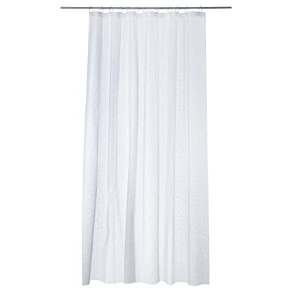 Ikea 0755675336861 Innaren Plastic Shower Curtain White 24 X 13 3 Cm