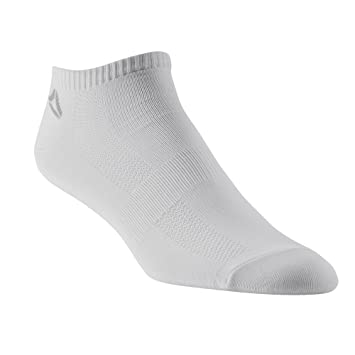 Reebok Sport Essentials Crew – Calcetines Calcetines 3 Pack, Color Blanco, 78 – 12