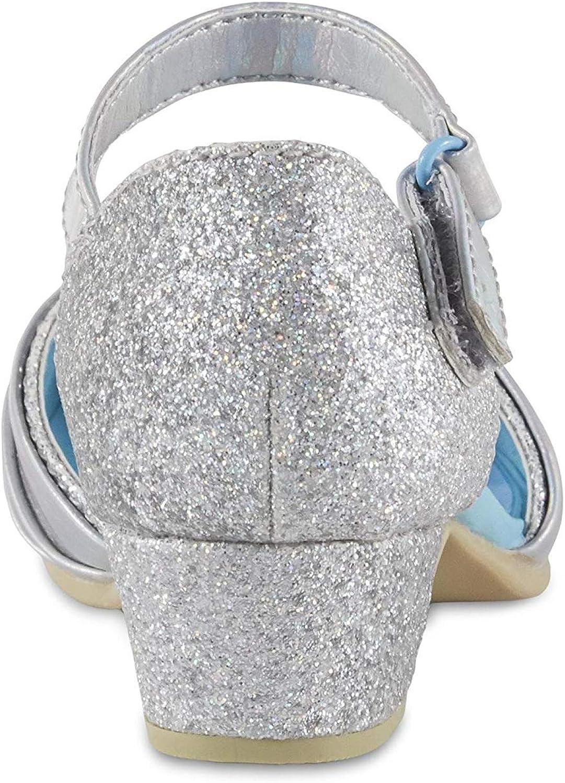 6 Toddler 10 Disney Toddler Girls Silver Dress Shoe