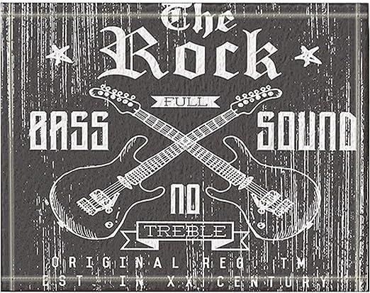 JHDF Sketch The Rock Full Bass Sound Vector con Guitarras Cruzadas ...