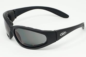 Global Vision Brillen Motorrad Wraparound Sonnenbrille Mit E V A Foam Futter Und Splitterfrei Anti Fog Objektiven Mit Freier Mikrofaser Aufbewahrungstasche Sport Freizeit