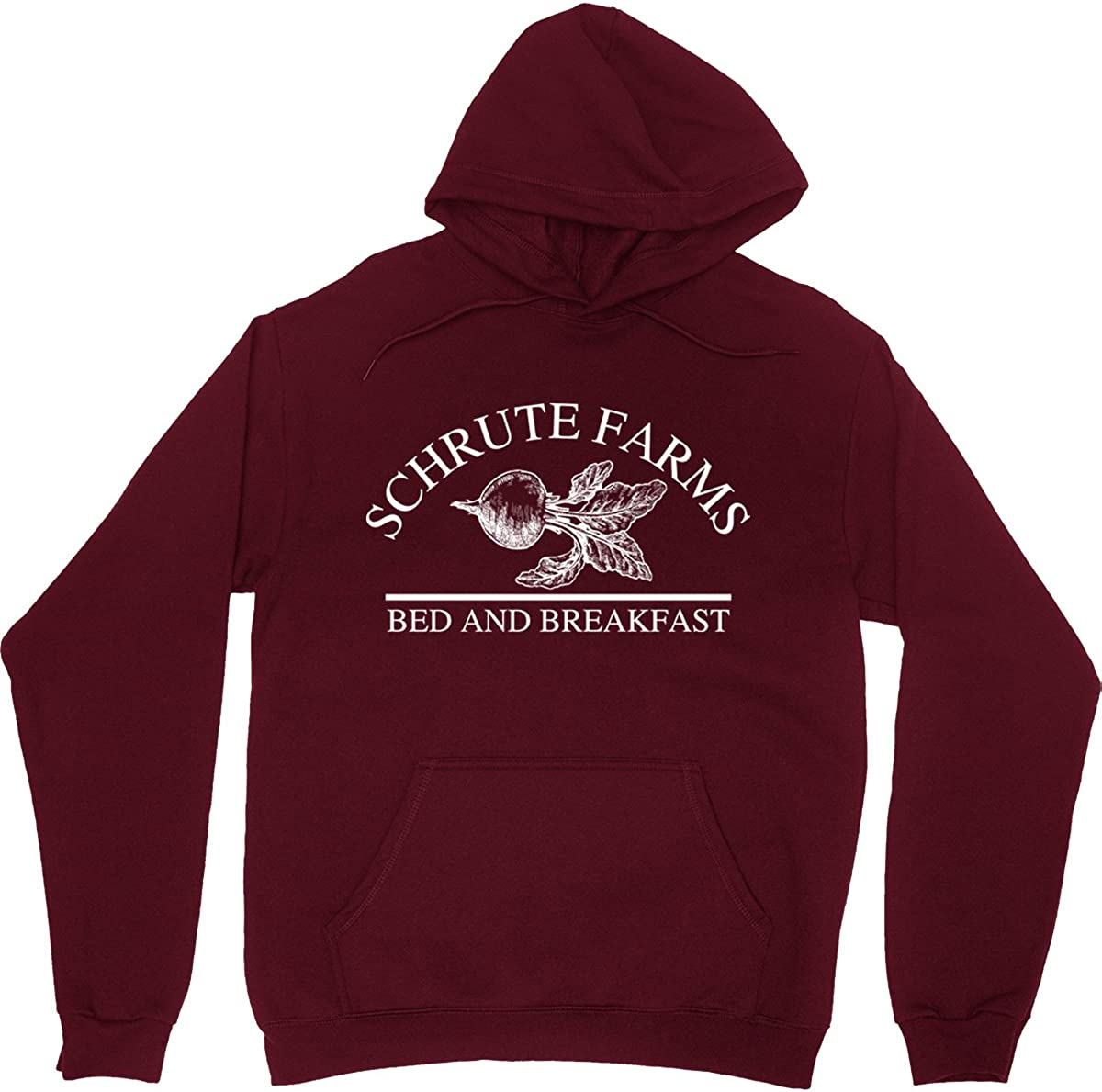 Schrute Farms Beets Bed and Breakfast Hooded Sweatshirt Sweater Pullover - Unisex Hoodie