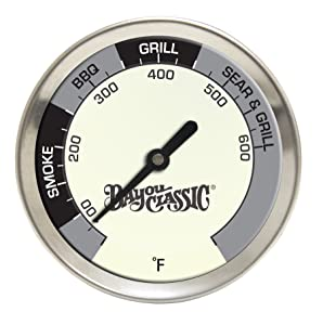 Bayou Classic 500-580, 2.5-in diameter Grill Thermometer