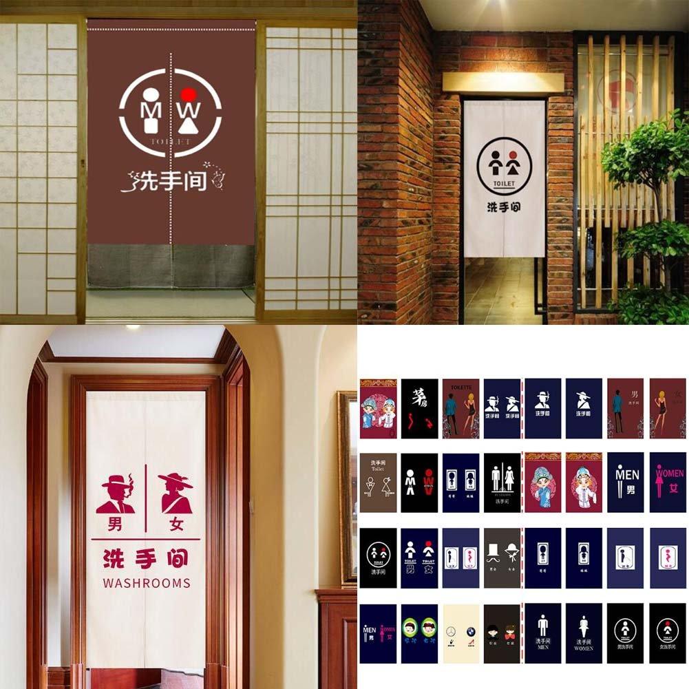 DRAGON SONIC Restaurant Hotel Bar Toilet Curtain Noren Entrance Curtain Doorway Curtain 09