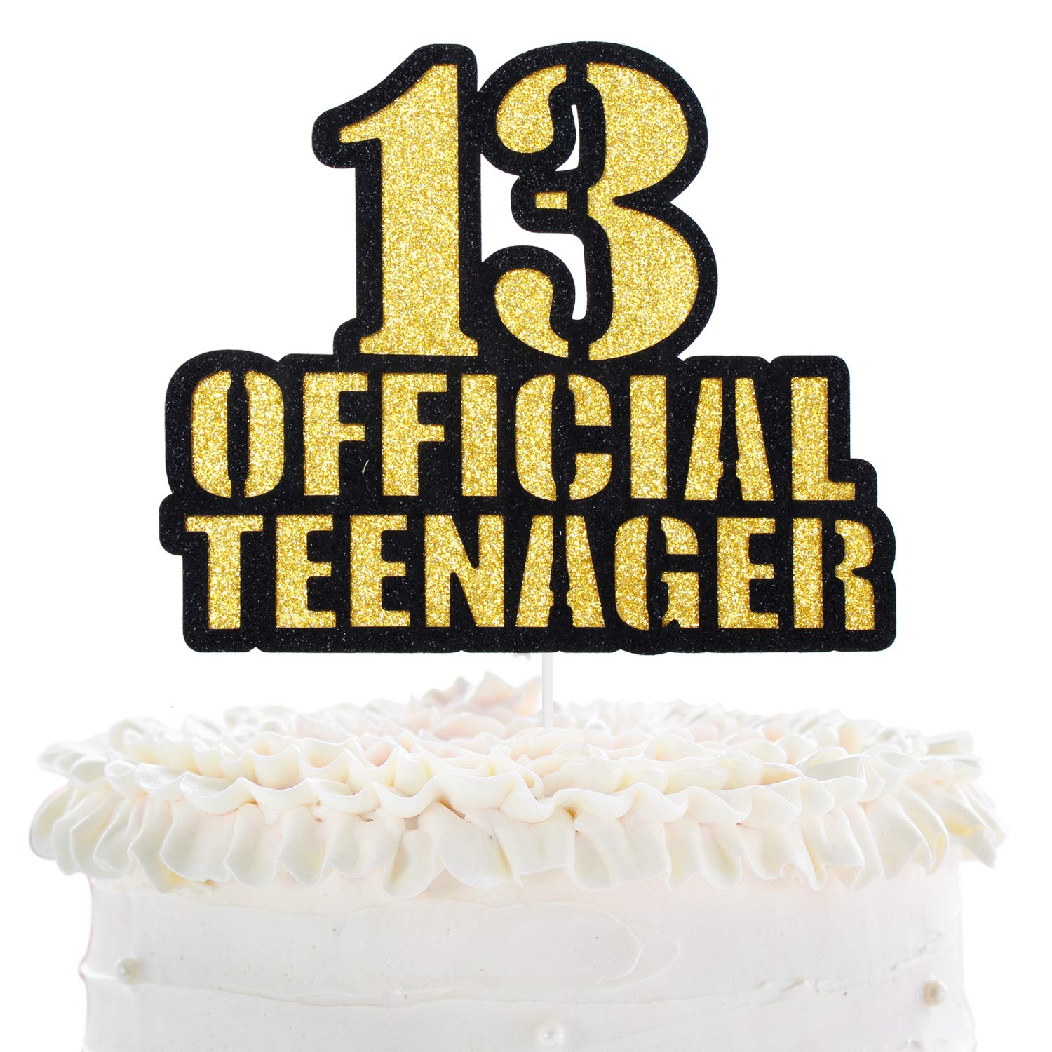 Sensational Official Teenager 13 Birthday Cake Topper Boys Girls 13Th Birthday Cards Printable Opercafe Filternl