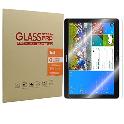 samsung galaxy notetab pro 122 tempered glass screen protector by rerii 9 h amazoncom tempered glass