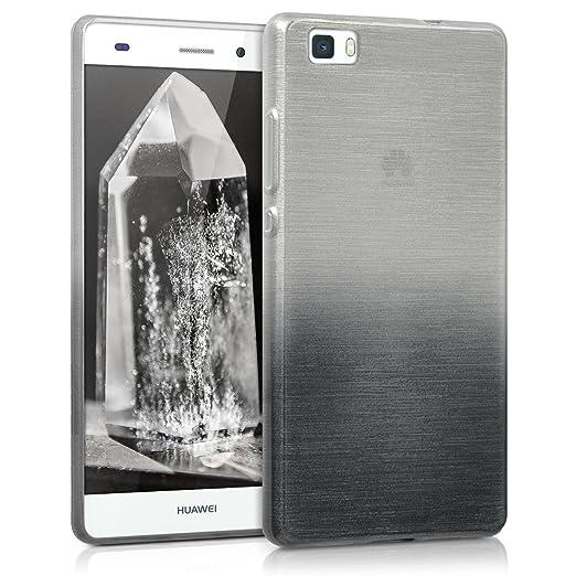 120 opinioni per kwmobile Cover per Huawei P8 Lite (2015)- Custodia in silicone TPU- Back case