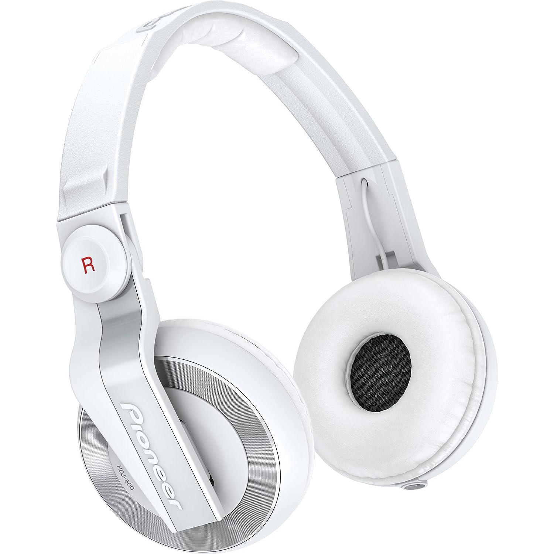 Pioneer DJ用ヘッドホン ホワイト HDJ-500-W   B004HHECVA