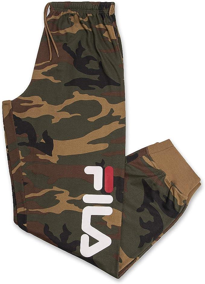 Fila Mens Joggers Sweatpants Men Athletic Fleece Sweatpants with ...