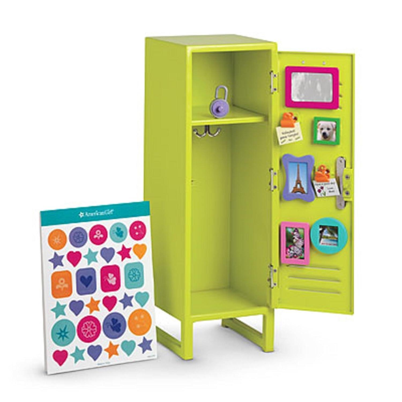 Genuine See Description American Girl New School Locker Set