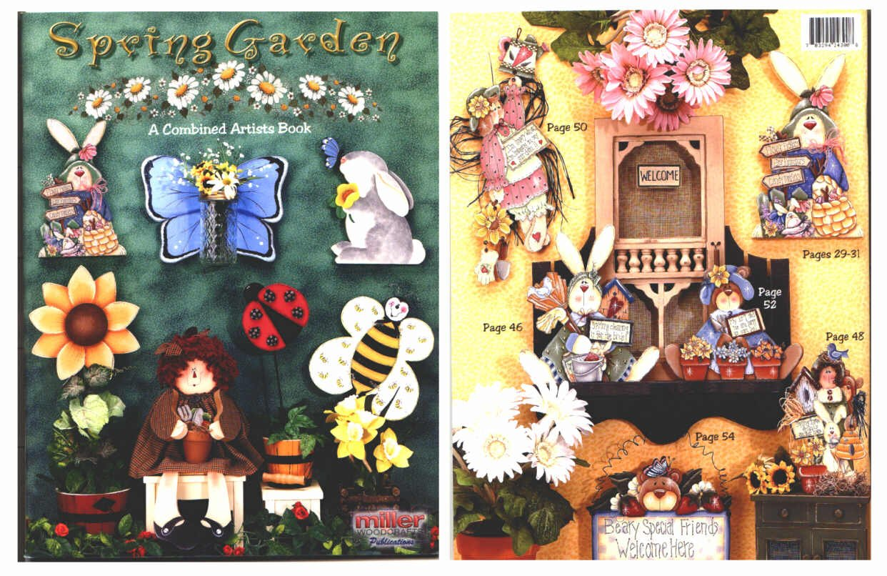 Download {Folk Art Crafts} Crafty Collections: Spring Garden-a Combined Artists Book pdf epub