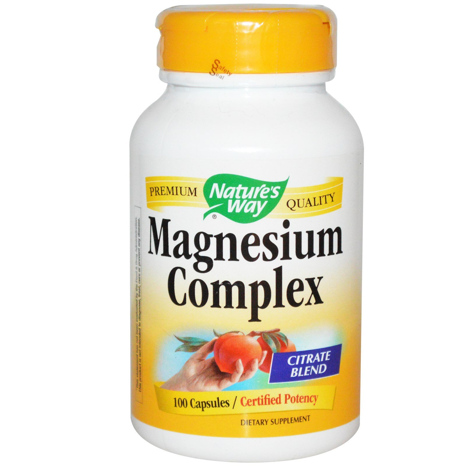 Nature's Way Magnesium,500 mg, 100 Capsules