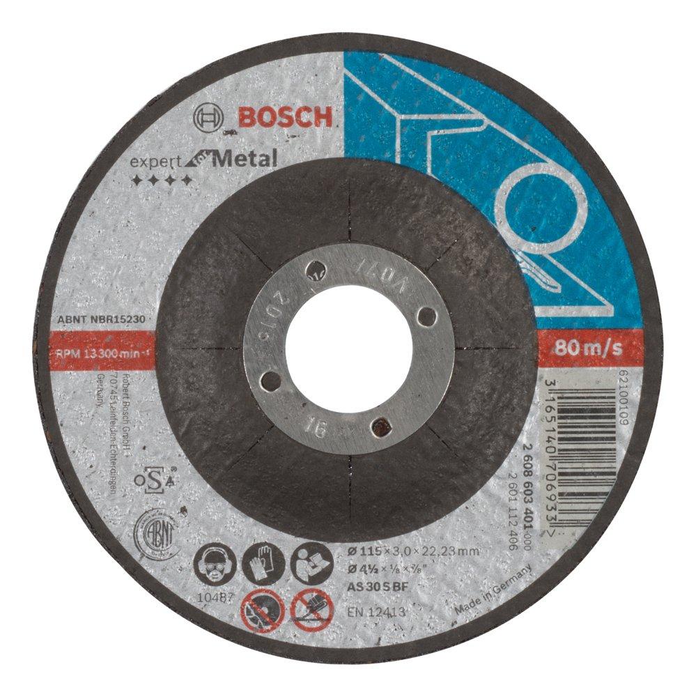 Bosch 2608603401 Disque /à tron/çonner /à moyeu d/éport/é expert for metal AS 30 S BF 115 mm 3,0 mm