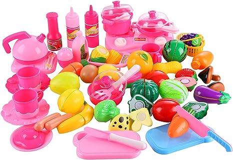 Fake Fruit Watermelon Miniature Fruit Toys Kids Pretend Play Toys 10 Pieces