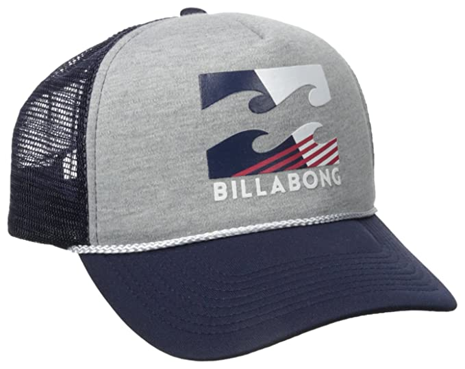 d63963ba39f52 Amazon.com  Billabong Men s Amped Adjustable Trucker Hat
