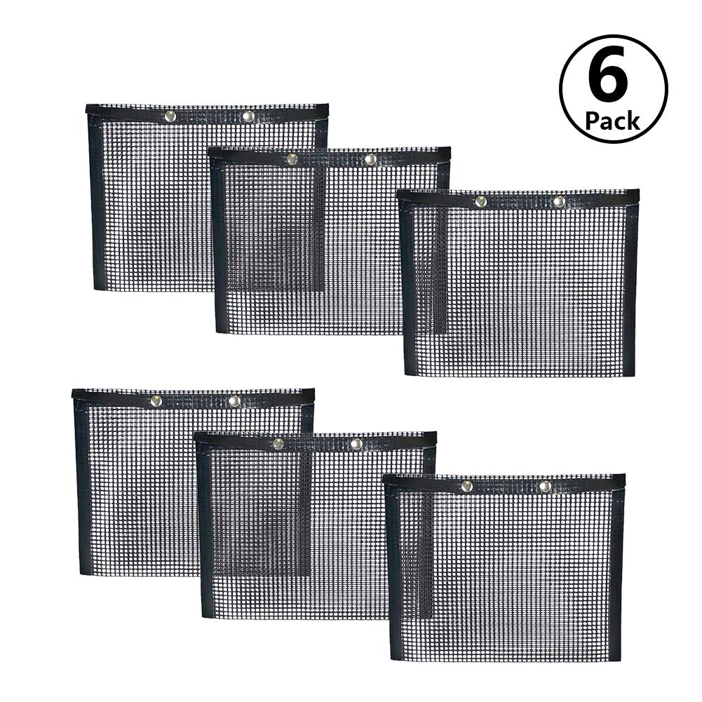 BBQ Grill Mesh Bag,Non-Stick BBQ Baked Bag Grilling Baking Reusable and Easy to Clean Non-Stick Mesh Grilling Bag