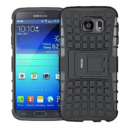 Amazon.com: Samsung Galaxy S6 Case, Slim Rugged Case doble ...
