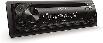 Sony Cdxg1302u Eur Autoradio Cd Player Usb Aux Eingang 4x 55 W Extra Bass Grün Navigation