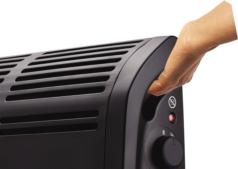 Rowenta Vetissimo II CO3030F1 Calefactor funcionamiento a 1200 W o 2400 W, dos ajustes de temperatura, termostato mecánico, posición antiescarcha, calefactor de aire caliente, silencioso: Amazon.es: Hogar