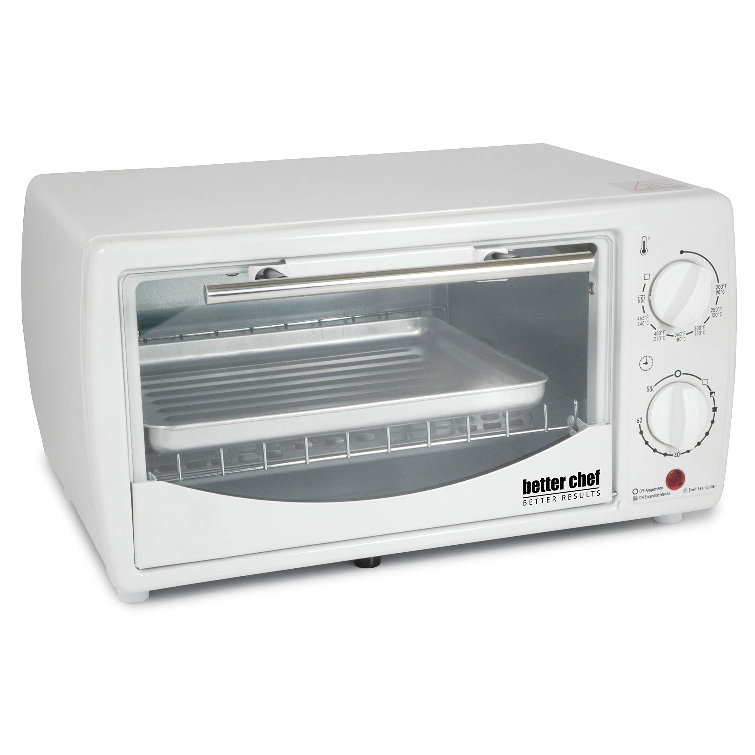 Better Chef 9 Liter Toaster Oven Broiler Red by Better Chef (Image #2)