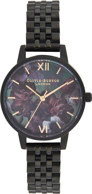 Olivia Burton OB16AD41 腕時計 レディース アナログ クオーツ ステンレススチール製ベルト