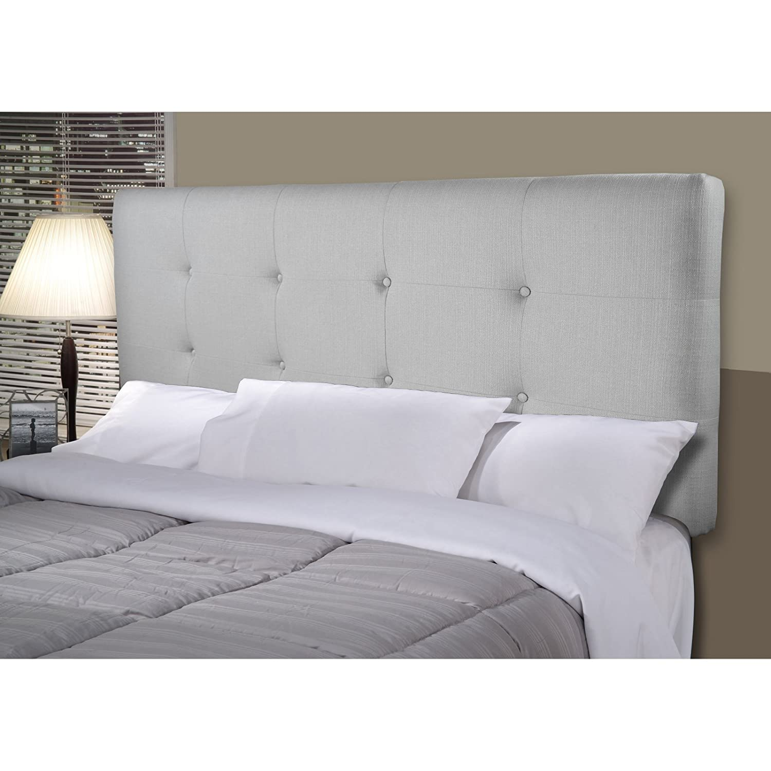 Amazoncom  Mjl Furniture Designs Ali Padded Bedroom Headboard Contemporary