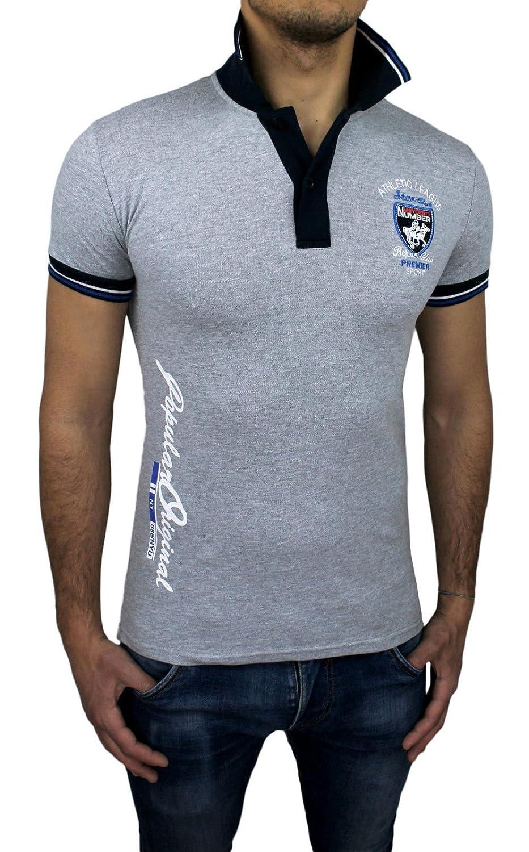 Athletic Club - Camiseta - para hombre gris Small: Amazon.es: Ropa ...