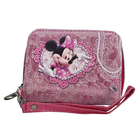 Disney Minnie Billetero Mujer Nina Chica Monedero Bolsillo ...