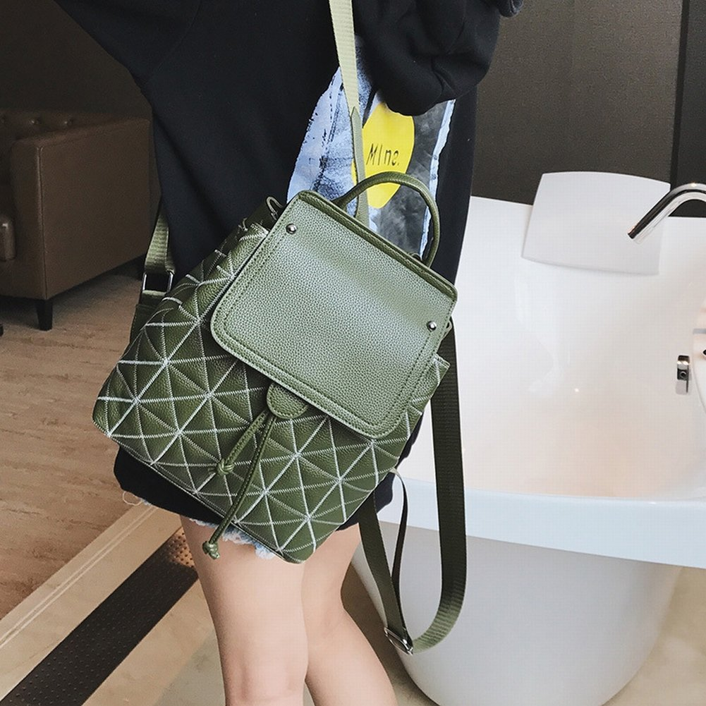 Reißverschluss-Segeltuch-Beutelhandtaschen-Handtaschenhandtasche , Khaki & Lotus
