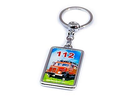 Llavero con diseño de bomberos: Amazon.es: Bricolaje y ...