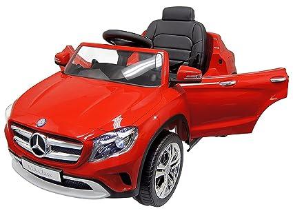 Buy Kajal Toys Mercedes Benz Gla Red 12v First Drive Dual Motor