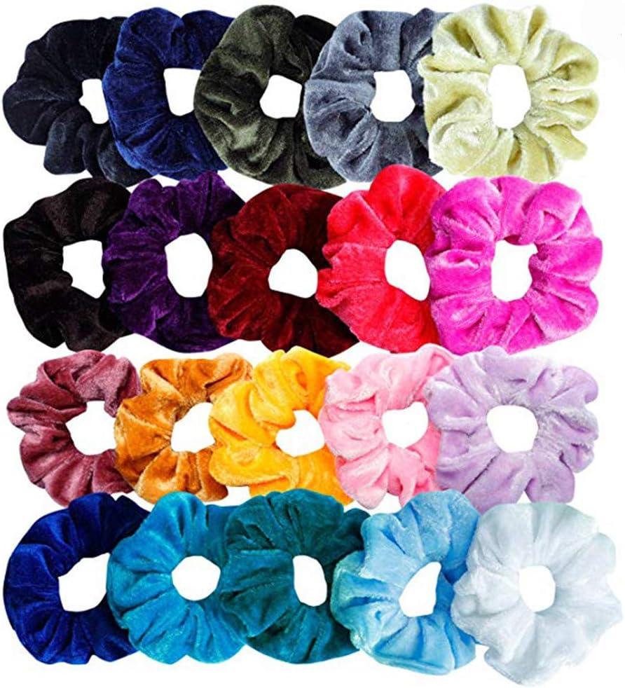 10Pcs//Set Candy Baby Girl Hair Band Elastic Hair Ropes Rubber Band Headwear