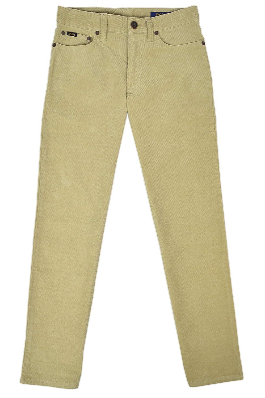 Polo Ralph Lauren Boys 100/% Cotton Corduroy Casual Pants Khaki Beige
