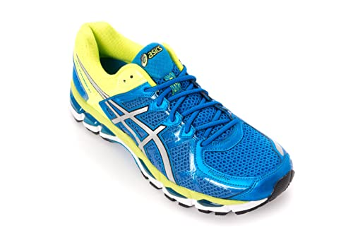 the best attitude 8ca3c 880cb Asics Men s Gel-Kayano 21 Royal Blue   Flash Yellow Mesh Performance Shoes  11  Buy Online at Low Prices in India - Amazon.in