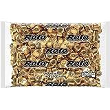 ROLO Halloween Candy, Bulk Milk Chocolate Caramel Candy, 4.1 Pounds, Golf Foils, ~205 Pieces