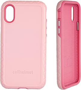 cellhelmet Fortitude Series Pink Magnolia Dual Layer Phone Case for Apple iPhone XR | As Seen on Shark Tank | in Retail Package