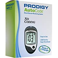 Prodigy Autocode Talking Blood Glucose Monitoring Meter