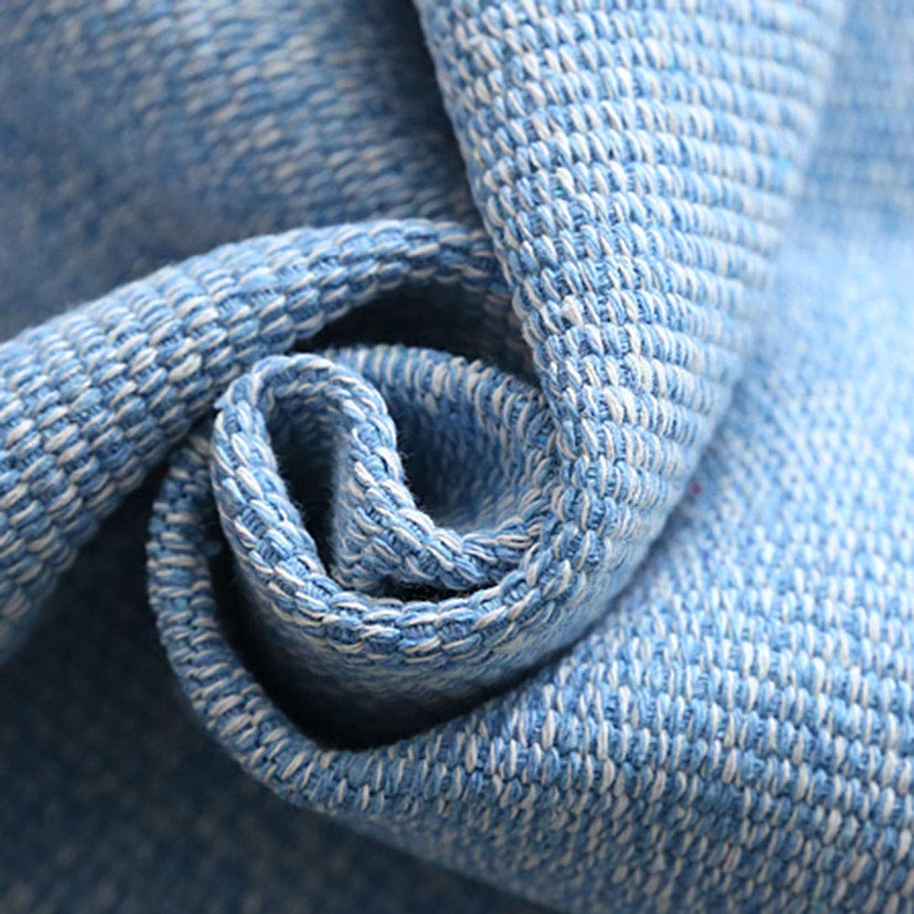 Z-one Sofa Abdeckung Retro Dekoration Sofa Überwurf Baumwolle Baumwolle Baumwolle Anti-rutsch Schmutzabweisend Kissen beschützer Für L förmige- Couch Schnitt-grau 110x210cm(43x83inch) B07L3W6T54 Sofa-überwürfe 8f5212